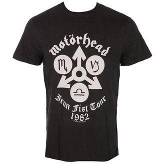 tee-shirt métal pour hommes Motörhead - IRON FIST TOUR - AMPLIFIED, AMPLIFIED, Motörhead
