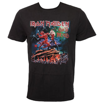 tee-shirt métal pour hommes Iron Maiden - RUN TO THE HILLS - AMPLIFIED, AMPLIFIED, Iron Maiden