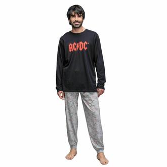 Pyjama pour hommes AC/DC, CERDÁ, AC-DC