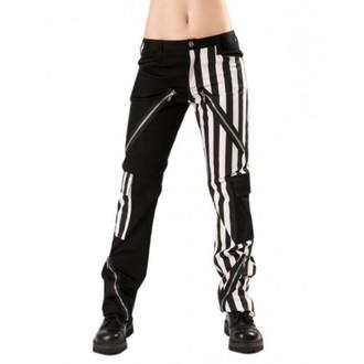 pantalon pour hommes BLACK PISTOL - Freak Pants Stripe Noir / Blanc - B-1-21-319-01