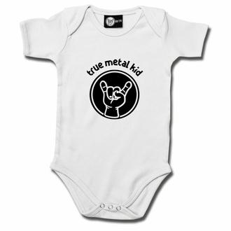 Body pour enfant True Metal kid- blanc - noir - Metal-Kids, Metal-Kids