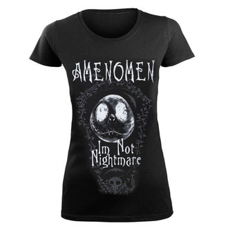 t-shirt hardcore pour femmes - I'M NOT NIGHTMARE - AMENOMEN, AMENOMEN