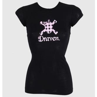 tee-shirt street pour femmes - Polkaskull - DRAVEN, DRAVEN