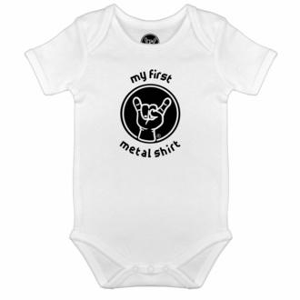 Body pour enfants My first Metal shirt - blanc - noir - Metal-Kids, Metal-Kids