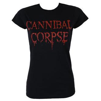tee-shirt métal pour femmes Cannibal Corpse - DRIPPING LOGO - PLASTIC HEAD, PLASTIC HEAD, Cannibal Corpse