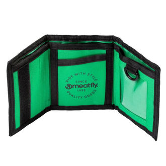 Portefeuille MEATFLY - HARPOON - A - 1/26/55 - Noir vert, MEATFLY