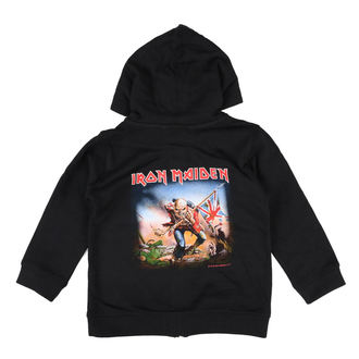 sweat-shirt avec capuche pour hommes Iron Maiden - Trooper - Metal-Kids, Metal-Kids, Iron Maiden