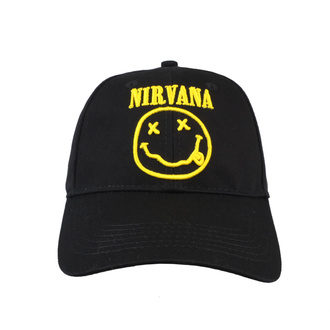 Casquette Nirvana - Logo & Smiley - ROCK OFF, ROCK OFF, Nirvana