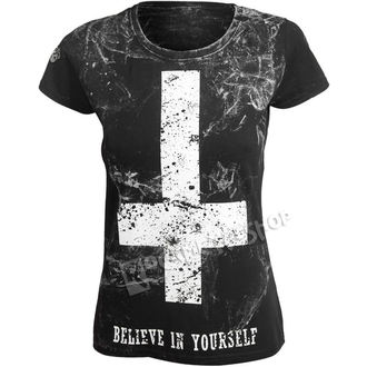 t-shirt hardcore pour femmes - BELIEVE IN YOURSELF - AMENOMEN, AMENOMEN