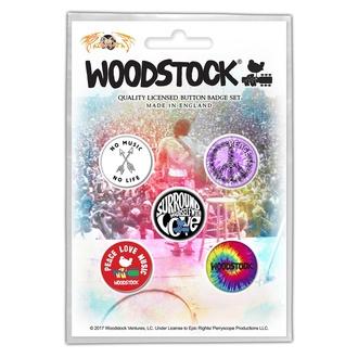 Badges WOODSTOCK SURROUND YOURSELF WITH LOVE RAZAMATAZ BB009, RAZAMATAZ