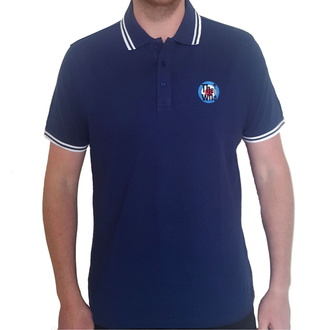 T-shirt hommes The Who - Target Logo - Polo NAVY - ROCK OFF, ROCK OFF, Who