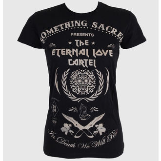 tee-shirt street pour femmes - Deathless Love - SOMETHING SACRED, SOMETHING SACRED