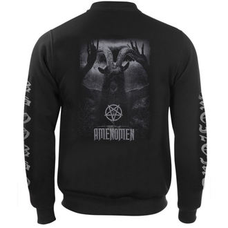 sweat-shirt sans capuche pour hommes - UNDER THE UNSACRED MOONLIGHT - AMENOMEN