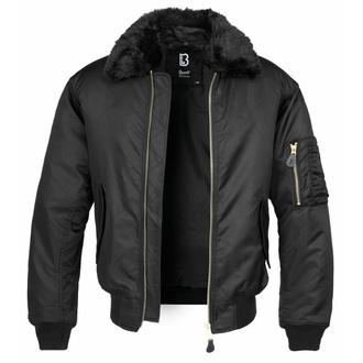 veste pour hommes bombardier (hiver) BRANDIT - MA2 Veste Col Fourrure  - 3175-black