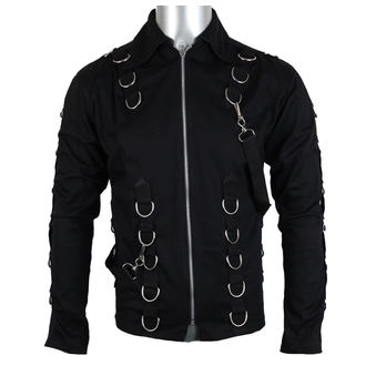 chemise pour hommes Aderlass - Cusp Cardy Denim Noire, ADERLASS