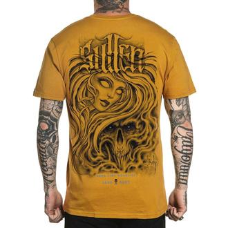 T-shirt SULLEN pour hommes - SUMMERTIME IN THE GTC - MOUTARDE, SULLEN