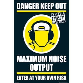 affiche - DANGER KEEP OUT II - GN0139, GB posters