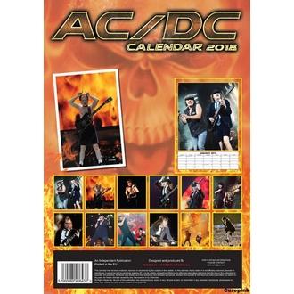Calendrier 2018 AC / DC, AC-DC