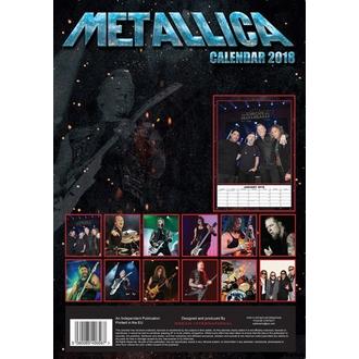Calendrier 2018 METALLICA, Metallica