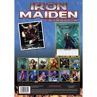 Calendrier 2018 IRON MAIDEN, Iron Maiden