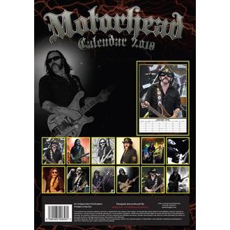 Calendrier 2018 Motörhead, Motörhead