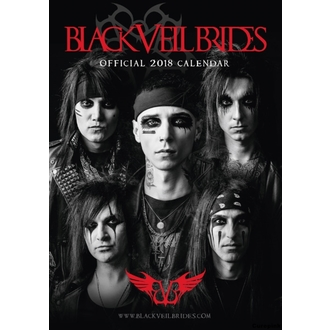 Calendrier 2018 BLACK VEIL BRIDES, Black Veil Brides