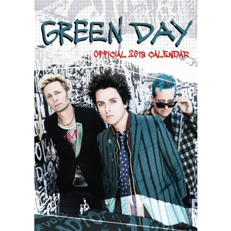 Calendrier mural GREEN DAY, NNM, Green Day
