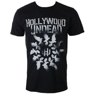 tee-shirt métal pour hommes Hollywood Undead - DOVE GRENADE SPIRAL - PLASTIC HEAD, PLASTIC HEAD, Hollywood Undead