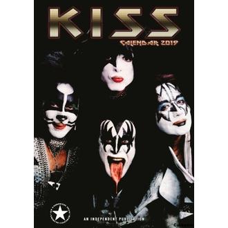Calendrier pour an 2019 - KISS, NNM, Kiss