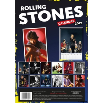 Calendrier pour an 2019 - Rolling Stones, NNM, Rolling Stones