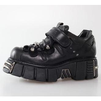 bottesen cuir - Bolt Shoes (131-S1) Black - NEW ROCK - M.131-S1