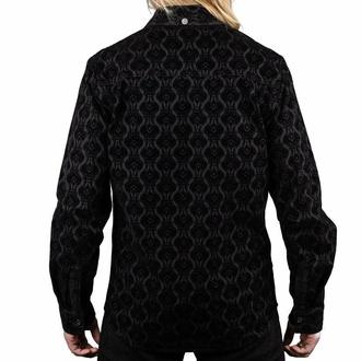 Chemise pour homme WORNSTAR - Amaryllis - Noir, WORNSTAR