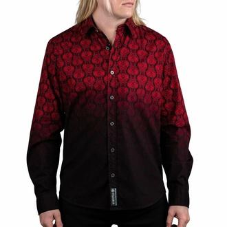 Chemise pour homme à manches longues WORNSTAR - Amaryllis - Ruby, WORNSTAR
