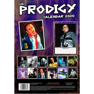 Calendrier pour l'année 2020 - THE PRODIGY, NNM, Prodigy