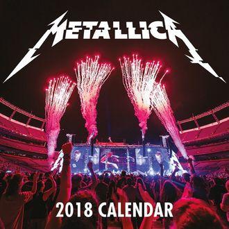 Calendrier mural 2018 METALLICA, Metallica