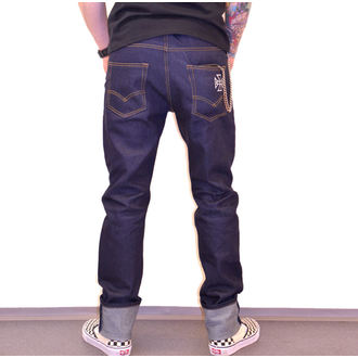 Pantalon hommes BLACK HEART - HOT ROD JEANS, BLACK HEART