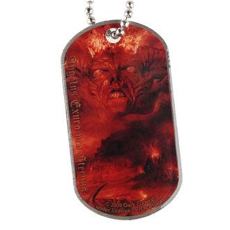 collier 'de chien plaque' Dark Funeral - Angelus Exuro pour Eternus, RAZAMATAZ, Dark Funeral
