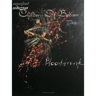 drapeau Children of Bodom - Blooddrunk, HEART ROCK, Children of Bodom