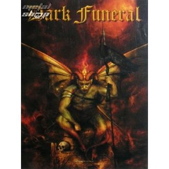 drapeau Dark Funeral - Belial, HEART ROCK, Dark Funeral