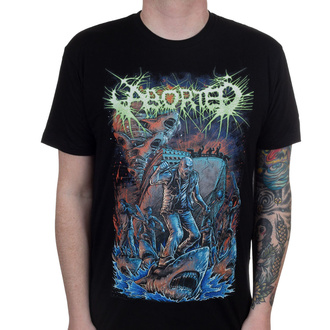 tee-shirt métal pour hommes Aborted - Sharknado - INDIEMERCH, INDIEMERCH, Aborted
