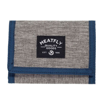 Portefeuille MEATFLY - LANCE - E - 1/26/55 - Gris chiné Bleu Noir, MEATFLY