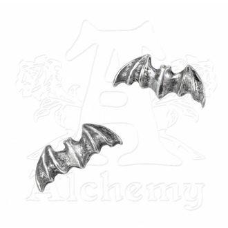 boucles d`oreilles Bat goujons E186 - Alchemy Gothic