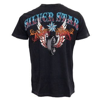 tee-shirt pour hommes Silver Étoile 'Trigger Gumm Da, SILVER STAR