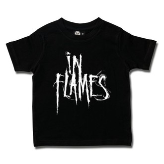 tee-shirt métal pour hommes In Flames - Logo - Metal-Kids, Metal-Kids, In Flames