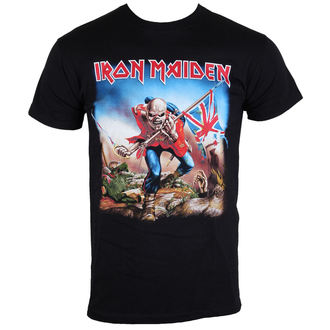 tee-shirt métal pour hommes Iron Maiden - The Trooper - ROCK OFF, ROCK OFF, Iron Maiden