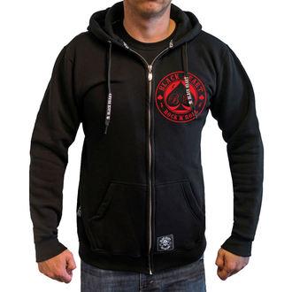 sweat-shirt avec capuche pour hommes - ACE OF SPADES - BLACK HEART, BLACK HEART