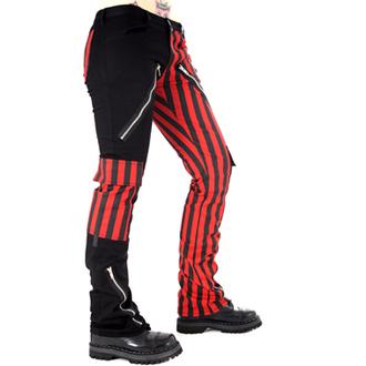 pantalon pour hommes BLACK PISTOL - Freak Pants Stripe (Noir / Rouge)