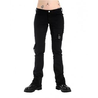 pantalon pour femmes BLACK PISTOL - Pocket Hipster Denim Noire, BLACK PISTOL