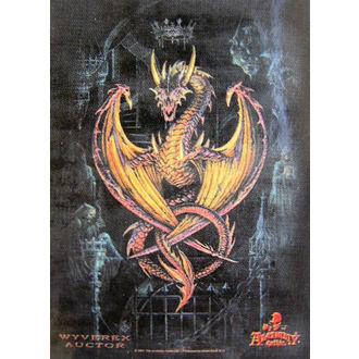 drapeau Achemy Gothic HFL 346, HEART ROCK