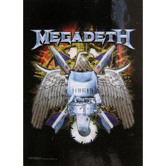 drapeau Megadeth - Aigle, HEART ROCK, Megadeth